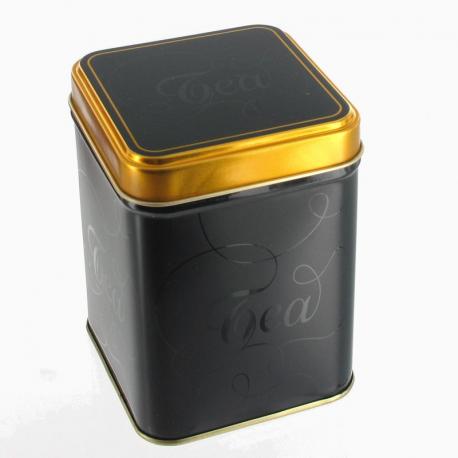 Boite à thé Black & Gold