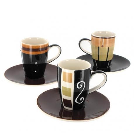 Trio de tasses Espresso Sao Paulo