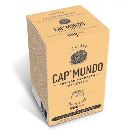 Capsule Cap'Mundo ZEBRANO