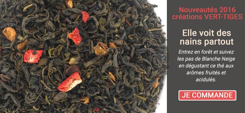 Entrez en forêt et suivez les pas de Blanche Neige en dégustant ce thé aux arômes fruités et acidulés.