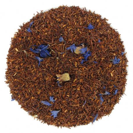 Thé rouge Rooibos Earl-grey fleurs de bleuet