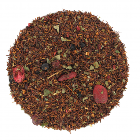 Thé rouge Rooibos French Kiss