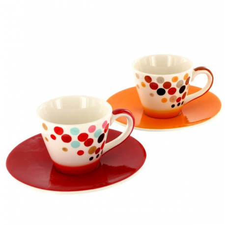 Duo de tasses Espresso Sally
